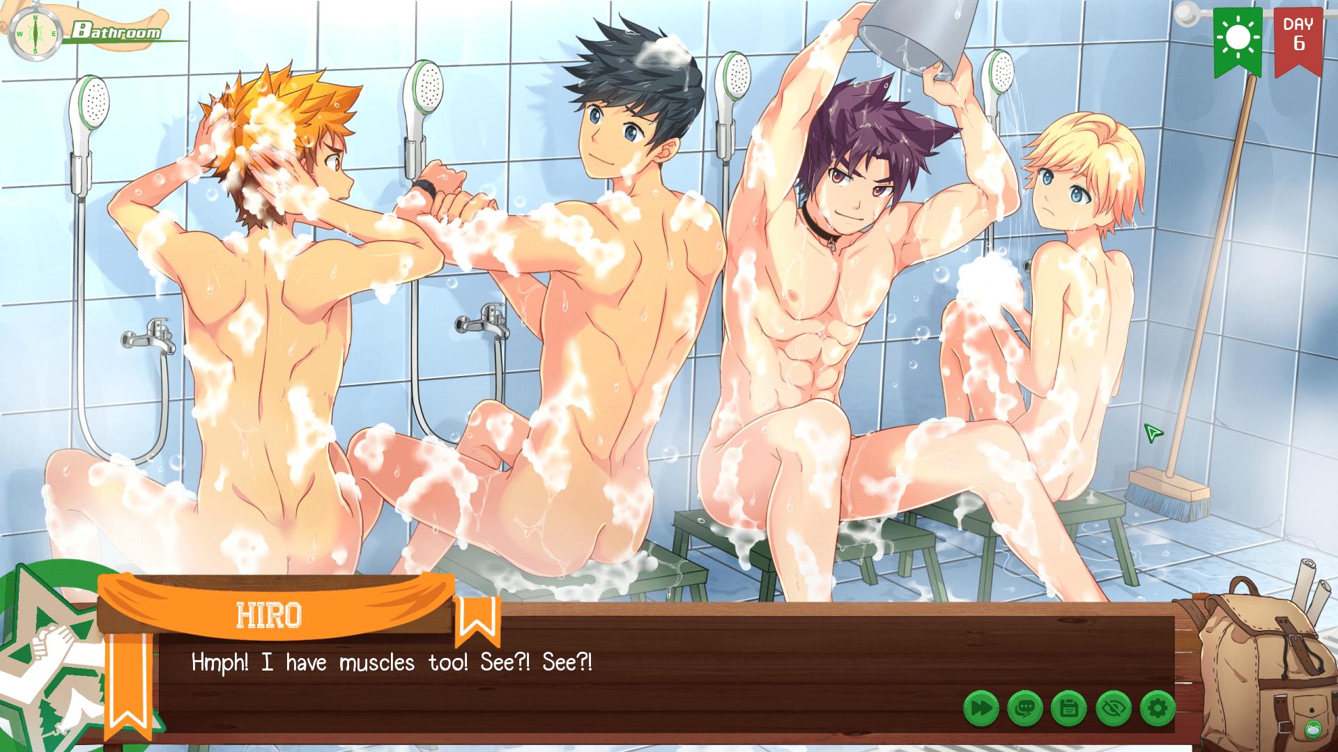 Camp Buddy Shower