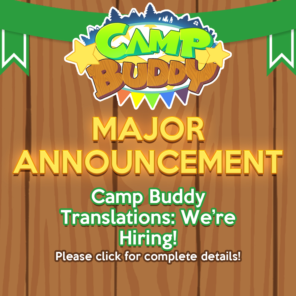 Camp Buddy Translations: We're Hiring!