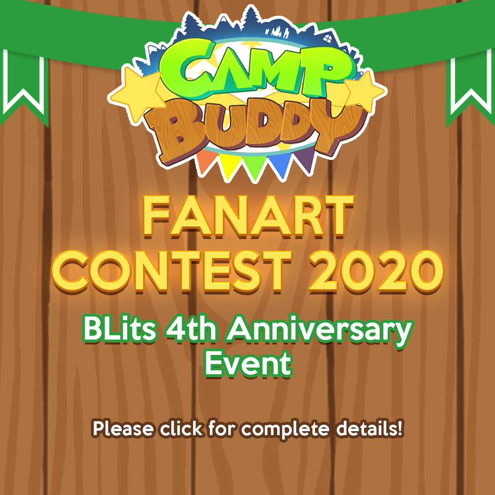 BLits 4th Anniversary Event – Camp Buddy Fanart Contest 2020