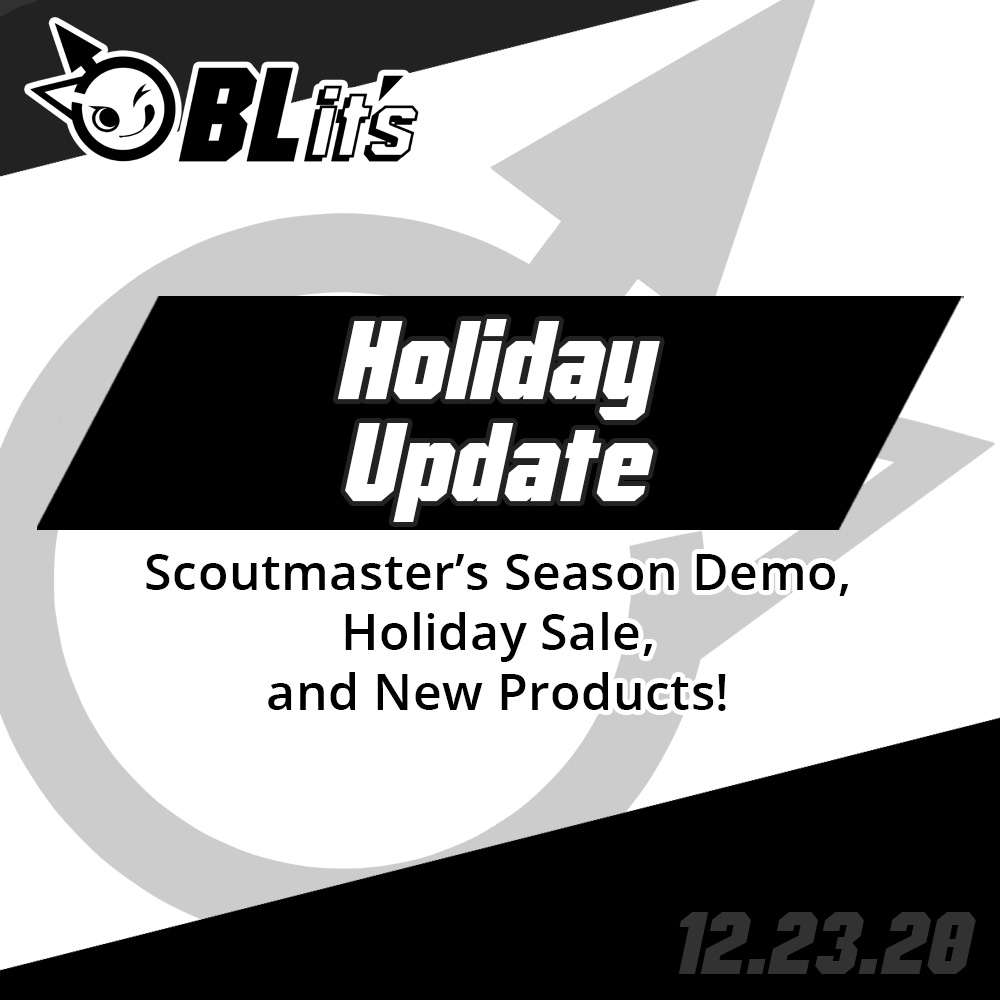 Scoutmaster's Season Demo, Holiday Sale & New Products!