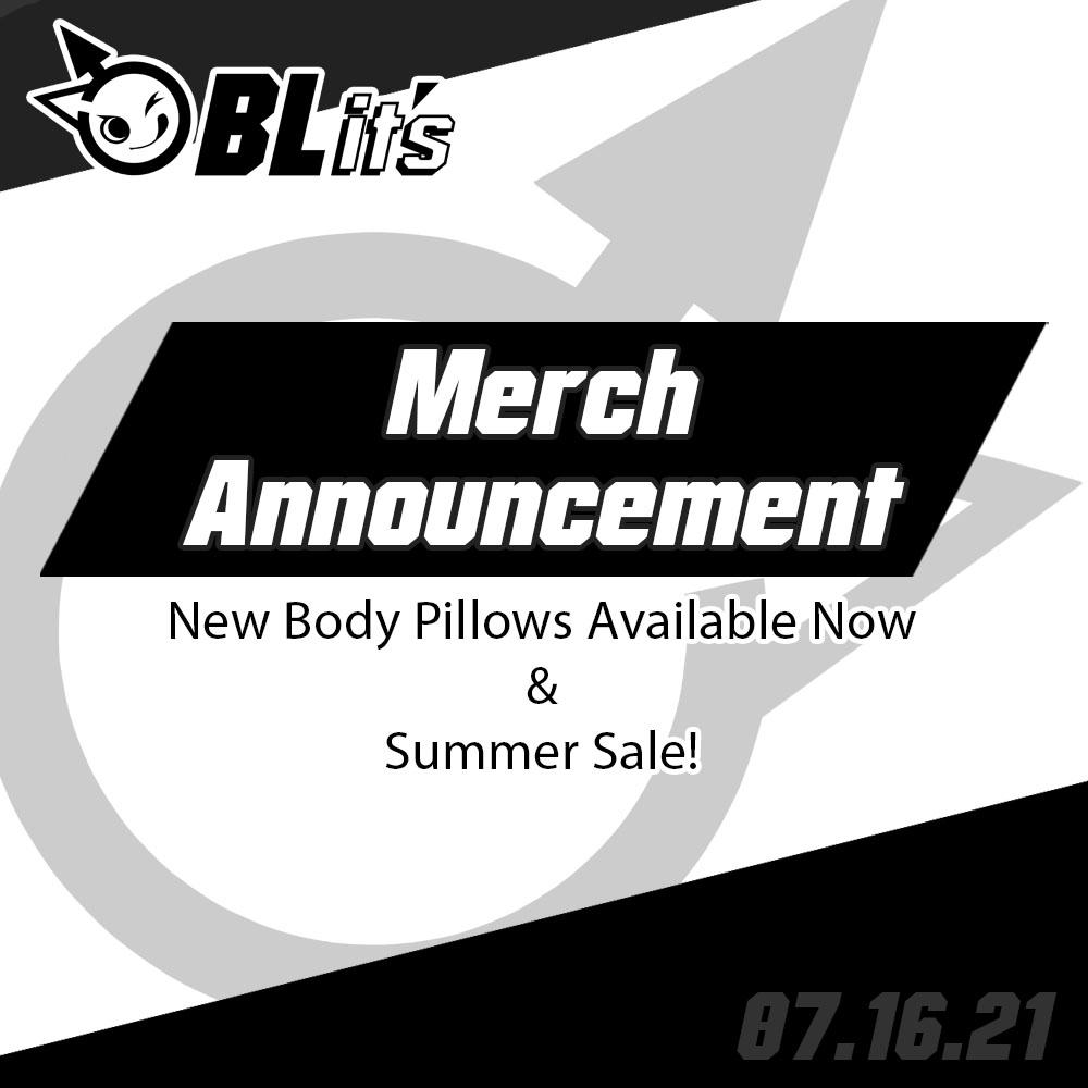 New Merch & Summer Sale!