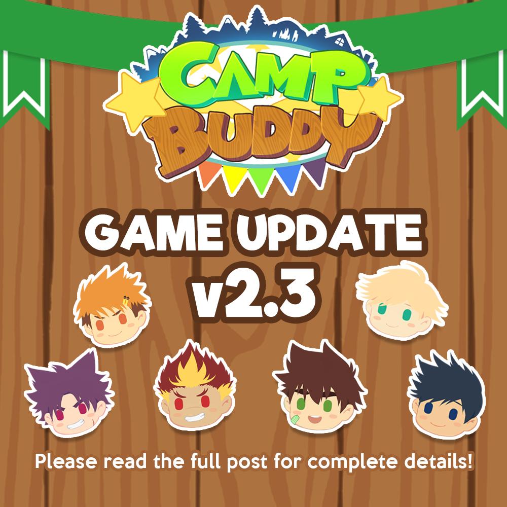 Camp Buddy v2.3 Released!